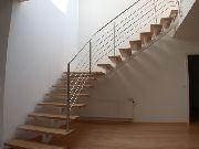 Treppengeländer und Brüstungsgeländer aus Edelstahl, Preis per lfm