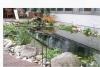 SOCON SONAR CONTROL Kavernenvermessung GmbH: Fische aus Rundeisen um den Gartenteich gruppiert