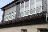 Französischer Balkon in Schmitz-Struktur