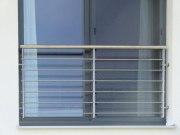 Franz. Balkon aus Edelstahl