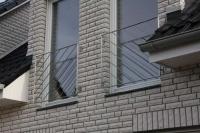 Französischer Balkon aus Edelstahl - Edelstahlgeländer