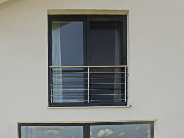 franz balkon aus v2a edelstahl. Black Bedroom Furniture Sets. Home Design Ideas