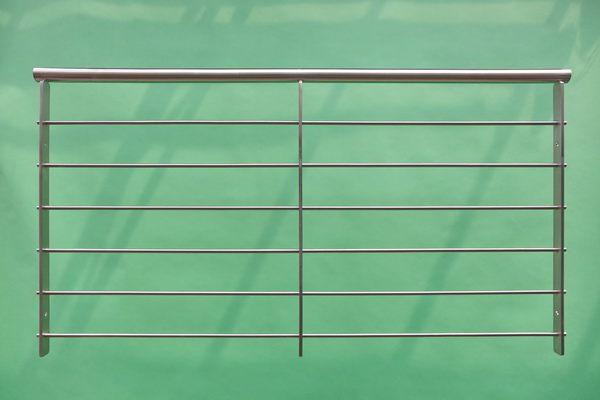 französischer Balkon mit 6 Stück  Relingstäben