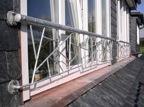franz balkon verzinkter stahl in schmitzstruktur preis. Black Bedroom Furniture Sets. Home Design Ideas