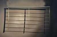 französischer Balkon mit Relingstäben aus Edelstahl