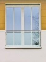 Französische Balkone mit Glas