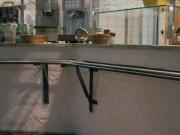 """Tablettrutsche für das Restaurant """"Tante Millis Futtertrog"""""""