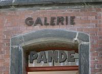 """Außenwerbung """"Galerie Pande"""""""