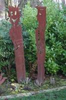 Gartenskulpturen aus Stahl plasmagetrennt