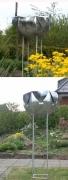 Pflanzgefäß aus Stahl feuerverzinkt