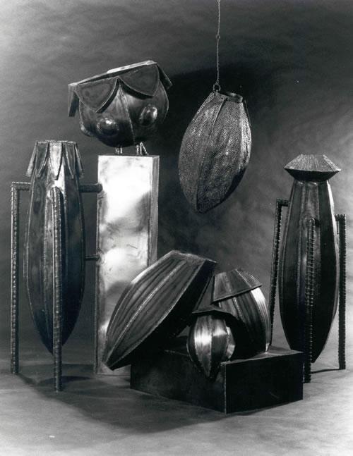 Pflanzgefäße aus Stahlblech