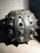 großes Pflanzefäß aus 1 mm Stahlblech