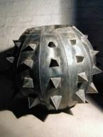 Gefäße aus 1 mm Stahlblech, klar lackiert