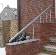 Geländer - Stahl geschmiedet und feuerverzinkt
