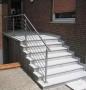 Treppen Geländer aus Edelstahl