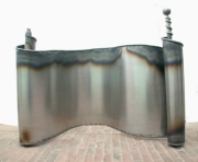 Brüstungsgeländer - Stahl geschmiedet