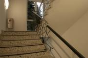 Beeindruckendes Treppengeländer / Brüstungsgeländer mit typischer Schmitzstruktur