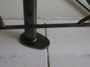 """astrein! Geländer mit einem Edelstahlhandlauf, Füllung aus """"Schmitzstruktur"""""""