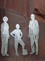 Gelaserte Skulpturen