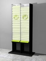 """Entwurf für einen """"Gelbe Säcke Spender"""" aus Stahl"""