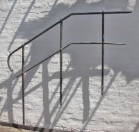 geschmiedetes Treppengeländer aus Stahl