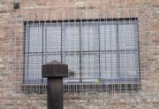 Fenstergitter aus Baustahlmatten, feuerverzinkt
