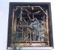 Fenstergitter aus Schmiedebronze geschmiedet