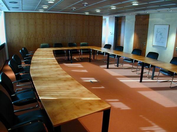 Sitzungssaal in der Vorstandsetage der Stadtwerke Hildesheim, EVI