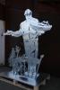 Olaf der Baumeister - Ein Denkmal der Belegschaft zur Pensionierung