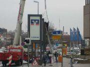 Infostelen für die Volksbank in Hildesheim