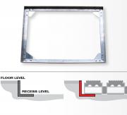 Einbaurahmen für Fußmatten / Aluminiumfußmatten