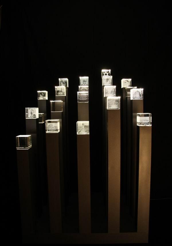 Gedenkobjekt j dische rzte in hannover skulptur mit for Pokale hannover