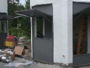 Türen und Fenster für die neuen Grilltürme im Kalimera in Garbsen