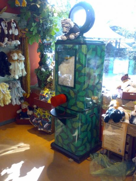 Kuscheltier Werkstatt im Zoo Hannover