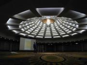 Phantastischer Kronleuchter für das Nikko Hotel in Düsseldorf