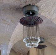 Kronleuchter aus Kupfer für das Restaurant BASIL in Hannover