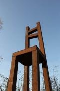 long chair aus Stahl geschweißt
