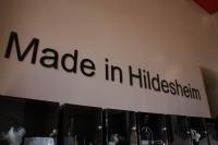 Made in Hildesheim - Vitrinen für eine Daueraustellung im Rathaus Hildesheim
