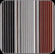 Fußmatte Farben der Gummi Streifen