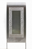 Gelaserte, feingliedrige Fenster aus 2,9 mm Stahl für ein maurisches Gartenzimmer