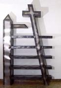 ′Metallsubjekt′ - 1 mm Stahlblech geschweißt, Höhe 250 cm