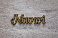 "Aluminium Schriftzug ""Naomi"""