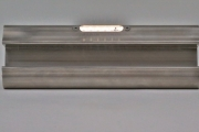 Ovaler Handlauf aus Edelstahl mit LED-Modulen
