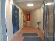 Eingangsbereich für eine Hautarztpraxis