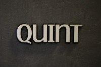 """Aluminium Schriftzug """"Quint"""""""