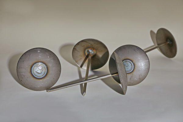 540 Pflasternägel aus rostigem Stahl