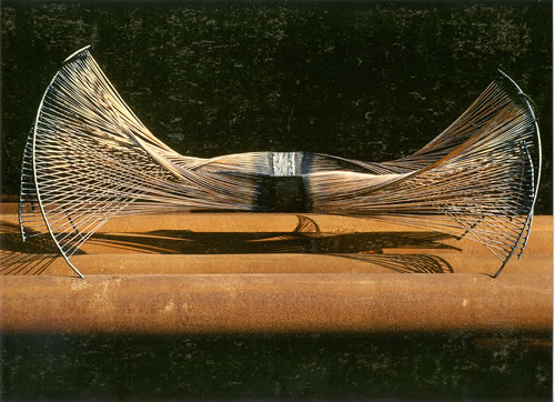 Schale aus 2mm Draht