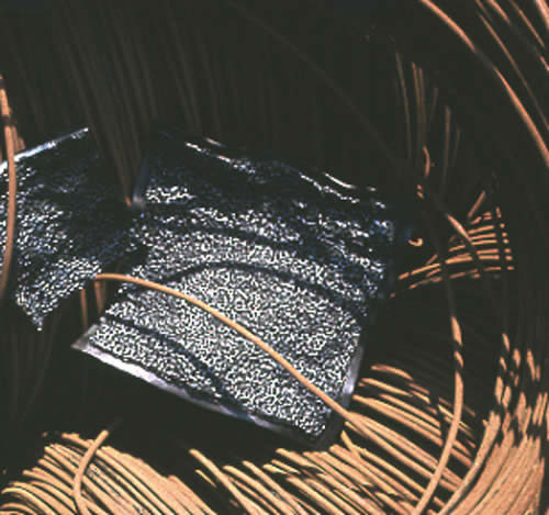 2 Schalen aus Stahl geschweißt