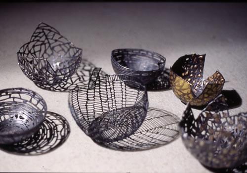 Schalen aus Eisen geschweißt und geschmiedet