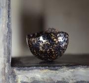 Aldebaran - Schale aus Eisen und Silberlot